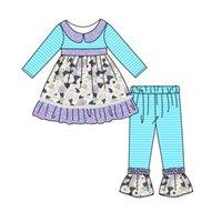 Kinder Kleidung Rüschen Hosen Sets Boutique Mädchen Outfits Mode Baby Kleidung