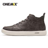 Onemix 2021 NUEVOS OXFORDS CARDES DE CUERO de Los Hombres Zapatos de Skate Zapatos Legero Zapatos Bajos Geniales Zapatillas Para Caminar