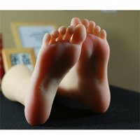 36 yard Real female sexy doll Foot mannequin Blood vesse Silicone Photography Silk Stockings Jewelry Model soft Silica gel 1PC C741
