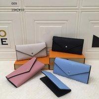 Bolsas carteiras femininas bolsa de zíper feminino carteira bolsa titular de cartão de moda bolso longo mulheres sacolas com caixa dustbags 15