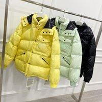 남성 여성 코트 디자이너 자켓 겨울 아래로 파카가 두꺼운 긴 소매 편지 아마 겉옷 재킷 따뜻한 윈드 브레이커 7 스타일