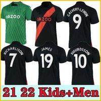 21 22 Everton Fussball Jersey James Richarlison 2021 2022 Calvert-Lewin Digne Sigurdsson Fußball Hemd Doucoure Bernard Männer Kinder Jersey