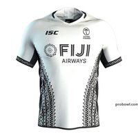 Fidji Airways 2020 2021 Mode Adulte Home Away Fidjiens Jersey Jersey Kit Maillot Camiseta Maglia Tops Hommes S-3XL