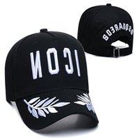 2021 Moda para hombre Diseñador Snapback Sombreros Casquette Bordado Ajustable Dsqicond2 Sombrero Detrás de letras D2 Cap de lujo