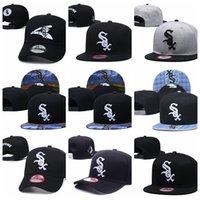 Snapbacks.ChicagobiancaSox Hat Outdoor Fashion Summer Summer si adatta a tappo per camion da baseball