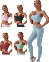 Tracksuits Womens Designer Fashion Yoga wear active Set outfits for Woman sexy shirts sport track pants leggings Tracksuit suit Tech wear crop top gym suits new style
