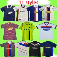 Lyon Jersey Retro Soccer Jerseys 2000 2001 2002 2008 2009 2010 2011 2012 2013 Vintage Maillot de Foot Juninho Fotbollskjortor 00 01 02 08 09 10 11 12 13 Pjanic Benzema