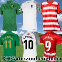 Granada CF L.SUÁREZ Soccer Jerseys 2021 22 Home D.MACHÍS A.PUERTAS L.MILLA Football Shirt Kit DOMINGOS D. SORO C.NEVA MOLINA Maillots de Foot
