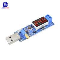 Circuits intégrés DC-DC 5V à 1.2 -24V Module d'alimentation USB Step / Down Board Convertisseur réglable Tube numérique à 3 bits