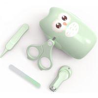 Nail Baby Nail Trimmer Baby Nail Care Set Kids Safe Safe Portable Clavador de uñas Scissor Arche Pweeer con caja Kit de manicura para niños