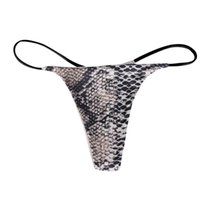 Women's Panties Women Wave Point Floral Print Sexy Underpants Comfort Low-rise Soft T-back G-string Ropa Interior Femenina Tangas Mujer