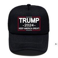 여름 미국 대통령 선거 여성 남성 검은 공 모자 트럼프 편지 인쇄 야외 여행 스포츠 바이저 태양 모자 bwb6582