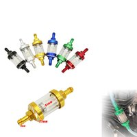 Parts 8mm CNC Motorcycle Gas Fuel Gasoline Oil Filter Moto Accessories For ATV Pit Bike Car Cup Universal