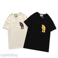 2021SS 패션 브랜드 디자이너 T 셔츠 힙합 화이트 망 의류 캐주얼 티셔츠 문자가있는 남성용 Tshirt Size S-3XL Hyg