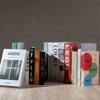 Objetos de moda modernos Home Decor Club Hotel Modelo Estudio Estudio de libros falsos suaves Decoración para los accesorios vivos para mujeres LD61002