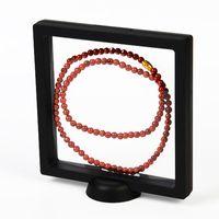 Frames Floating Jewelry Display Holder Transparent Storage Box Frame Suspension Stand For Home Decoration