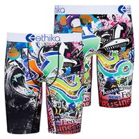 Zhcth 2020 Hot Colorful Ethika Underpants Breathable Male Short Pants Spandex Animal Cartoon Boxers Mens Underwear