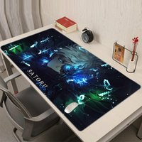 Mouse Pads & Wrist Rests Jujutsu Kaisen Anime Pad Gamer Desk Gamers Accessories Gaming Keyboard For Compass PC Cabinet Varmilo Mausepad Mice