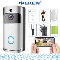 비디오 Doorbell V5 스마트 무선 WiFi 보안 도어 벨 시각 녹음 홈 모니터 야간 투시경 카메라