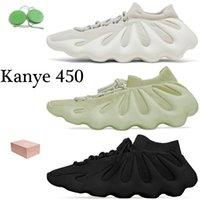 مع BOX Kanye 450 حذاء الجري 450s Resin Dark Slate Cloud White حذاء رياضي رجالي رياضي