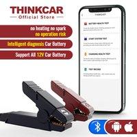 ThinkCar Şarj Cricut Araçları Yeni Thinkeasy Bluetooth Araç Akü Test Cihazı 12V 2000CCA