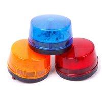 신호등 12V 보안 알람 스트로브 신호 안전 경고 깜박임 LED 램프 90S / 분 블루 / 레드 / 옐로우