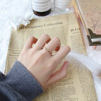 Diamond Twist Couple Anello per le donne che ami gioielli in lega di nozze festa di moda