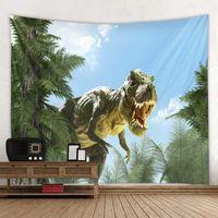 Tapestry Hanging Cloth Dinosaur Decorative Wall
