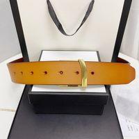 2021 حزام الأزياء، الذكور والإناث مصمم مشبك كبير، جلد البقر، الأسود، البني، 2 الألوان المتاحة، الكلاسيكية عارضة 3.8 سنتيمتر مع box.a68