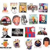 55 adet / paket Donald Trump 2024 Komik Graffiti Çıkartmalar Karikatür Trump Çıkartmaları Paster ABD Başkanı Buzdolabı Arabası Oyuncak Gitar Su Geçirmez Sticker Dekorları G86VXMP