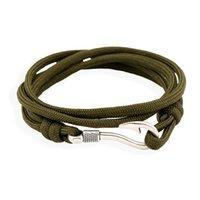Beste Geschenk Mode Navy Windhaken Anker Paar Haken Armband Flut FB077 Mischungsauftrag 20 Stücke Viel Charme Armbänder72 Q2
