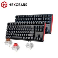 Hexgears Mechanical Keyboard Gaming -Swappable Switch Russo 87 Key impermeabile Kailh Box personalizzato Macro GK12 210610
