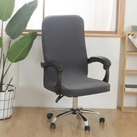 Chair Covers Office Gamer Cover Protector Seat Slipcover Solid Color Removable Gaming Dust Guards Home Computer Case