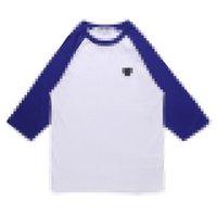 Designer männer kleidung comes des garcons spielen t-shirt schwarz pullover baumwolle atmungsaktive top qualität herz 3/4 sleeve herren trainer größe s-xl