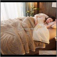 Luxus-Fleece-Decken und -würfrätze erwachsener dicker warmer Winter-Zwillingskönigin solide graue Flanelldecke auf Bett Weihnachtsgeschenke 201113 FOSQF Eiwdu