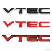 Autoadesivo auto in metallo VTEC Emblem Badge Sticker adesivo per Honda VTEC Accord CRV Fit Civic Crosstour Spirial City Cryider Jade Odyssey