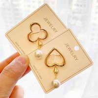 Simple pearl brooch new alloy leaf clothing accessories cardigan anti light Brooch
