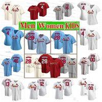 28 Nolan Arenado St. Louis Cardinal Jersey Men Women Youth 46 Paul Goldschmidt 4 Yadier Molina 1 Ozzie Smith 25 Dexter Fowler Custom Jerseys
