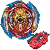 B-X TOUKIE Patlama Beyblade Superning B173 Süper Kral Infinity Nado Sonsuz Aşil DM 1B Vol.22 Rastgele Booster Bay Blade 210419