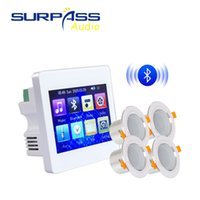 3D Estéreo Música Sound Sound Dispositivos inteligentes Bluetooth Intelligent Home System System System Kit Amplificador de pared Paquete de altavoz de techo