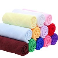 Towel Urijk Water Absorbent Clean Pure PolyesterTowel Beach Color Thick Bath Towels Super Soft Microfibre