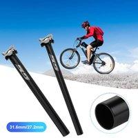 Full Carbon Fiber Bicycle Seatpost MTB 3K Road Bike Seatposts Breaking Wind Seat Post 27.2 31.6*385mm For Accessories Car & Truck Racks