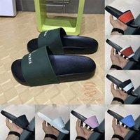 Flophat Yaz Ayakkabı Erkek Sandalet Moda Paris Tasarımcılar Slaytlar Kadınlar Bayanlar Lüks Flip Flop Flats Kauçuk Terlik Mektuplar Yıldız Pembe Siyah