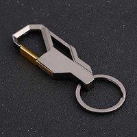 내구성 휴대용 열쇠 고리 4 색 남성 결코 녹슬지 않는 허리 열쇠 고리 크리 에이 티브 금속 절묘한 휴대용 실용