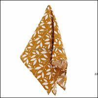 Textiles Home & Garden60X60Cm Cotton Baby Handkerchief Towels Scarf Swaddle Bath Towel Borns Bathing Feeding Face Washcloth Wipe Hwf9657 Dro