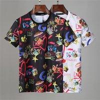 2021 Herren T-Shirts Sommer Kurzarm Mode Gedruckt Tops Casual Outdoor Herren T Shirts Crew Neck Kleidung 21ss M-3XL