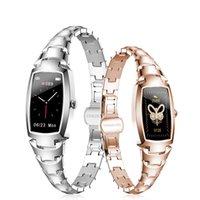 Smart Watches H8 Pro Latest Women Smartwatch Stainless Steel Waterproof Outdoor electronic Bracelet User Manual