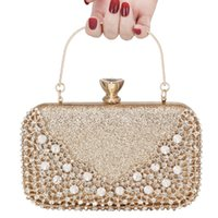 2021 Luxus-Diamant-Dinner-Tasche, hochwertiger Metallhandhalter mit charakteristischen Lock-Design, für Hochzeit, Party, Brautjungfer Abendkleid Taschen