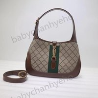 Haute Qualité Jackie 1961 Bandbody Sacs Brossé Sac à main en nylon Sac à bandoulière de luxe de luxe Hobo portefeuille sac à main sac à main