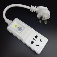 Bouchons d'alimentation intelligente GFCI Protection contre les fuites de la sécurité RCD Adaptateur RCD Adaptateur Home Circuit Disjoncteur Découpeuse Switch Switch 10a 220V 240V AU